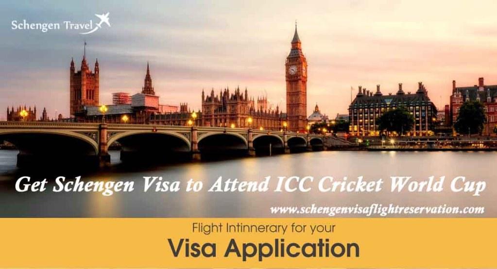 Get Schengen Visa to Attend ICC Cricket World Cup