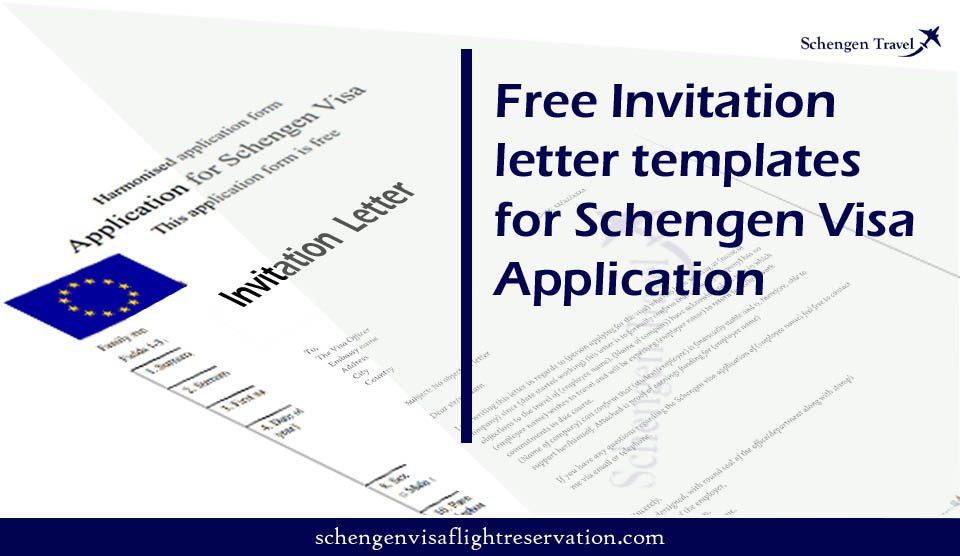 Invitation Letter for visa