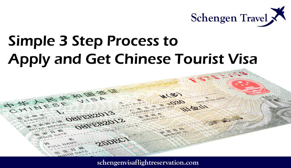 Chinese Consulate NYC, USA – 3 Steps process to Apply for China Tourist and Travel Visa