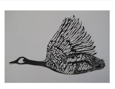 Woodblock by Sarah Ory