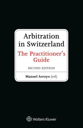 Handbuch Arbitration in Switzerland
