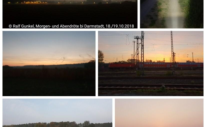 Sonnenaufgänge und Sonnenuntergänge