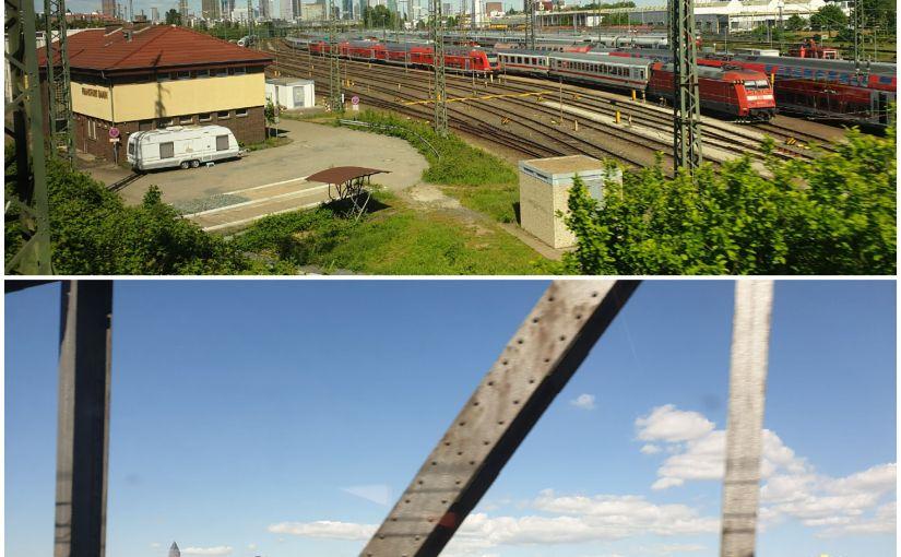 Vias und Frankfurter Skyline