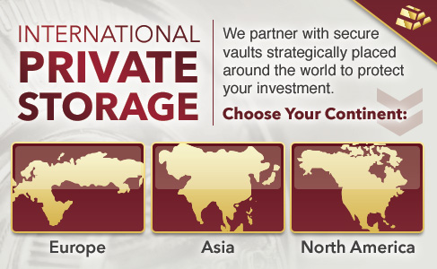 International Private Storage for Gold and Silver
