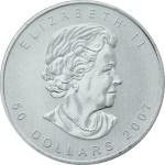 Palladium Canadian Maple Leaf Coin