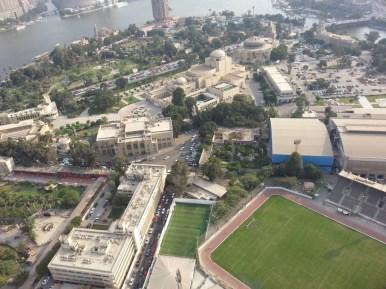 Der Stadtteil Zamalek ist der Nobelort
