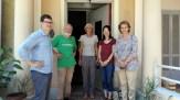 Mit Vertretern von UNHCR und Caritas