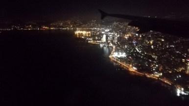 Anflug auf Beirut