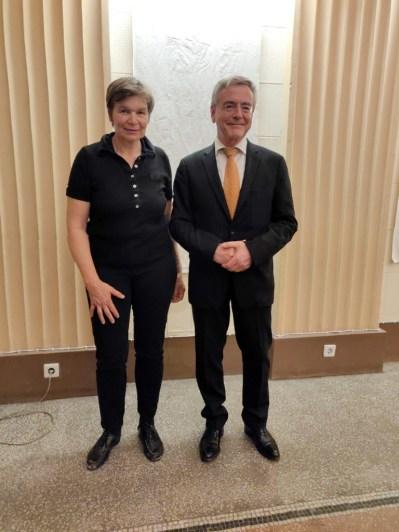 Kirsten und Botschafter