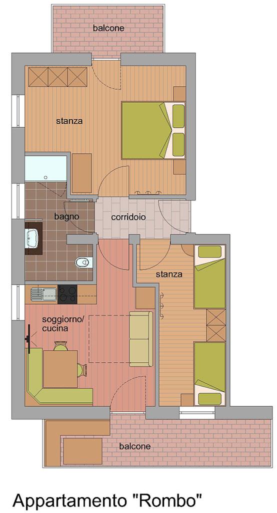 Appartamento Rombo