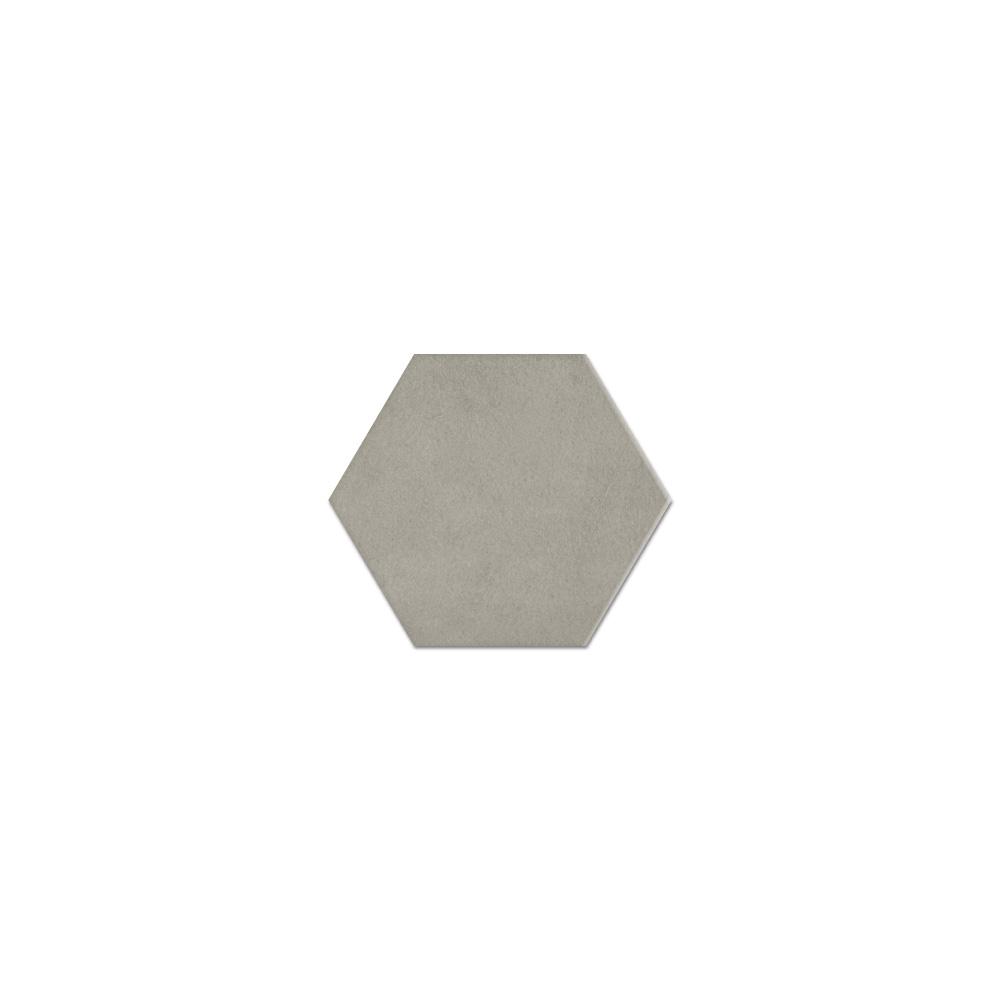 daltile bee hive ash grey hexagon porcelain tile 8 1 2 x 10 3 98 sq ft per carton