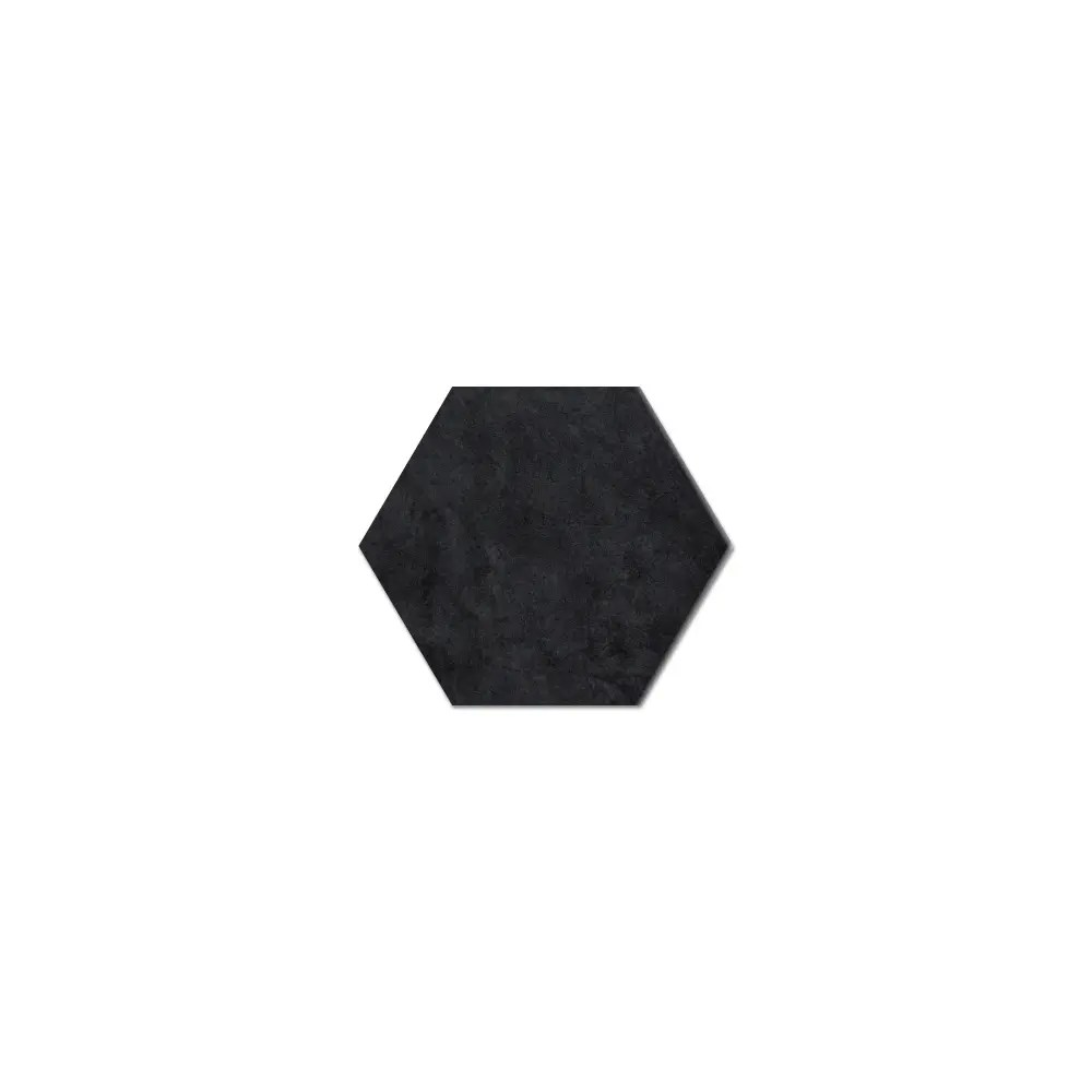 daltile bee hive black hexagon porcelain tile 8 1 2 x 10 3 98 sq ft per carton