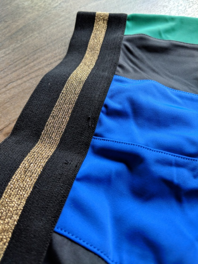 P.E Nation review Riseball Legging Waistband Detail