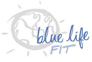 blue life fit logo