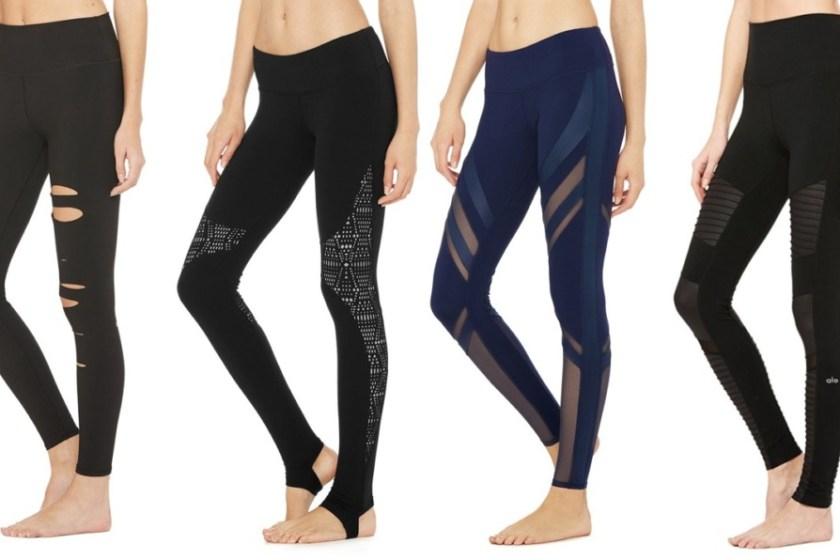 alo yoga moto leggings review