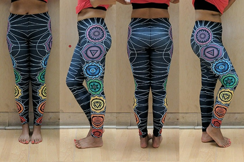 sankalpa chakra energy leggings review
