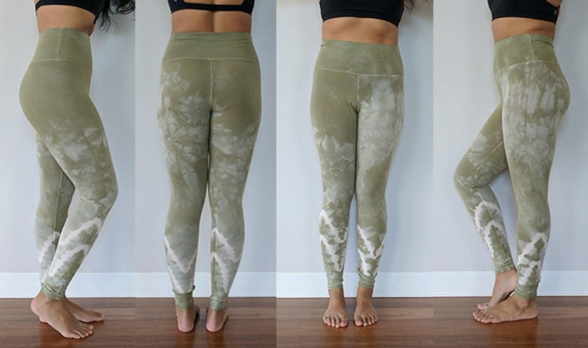 electric and rose sunset tie dye leggings review schimiggy