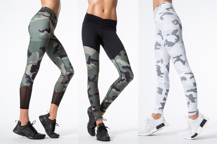 carbon38 camo printed leggings