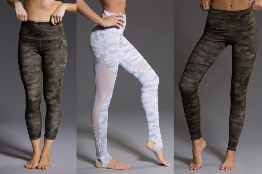 onzie camo printed leggings
