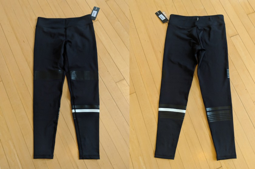 Lilybod - Coco Shadow Lux Leggings (front and back)