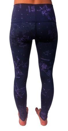teeki activewear constellation zodiac leggings