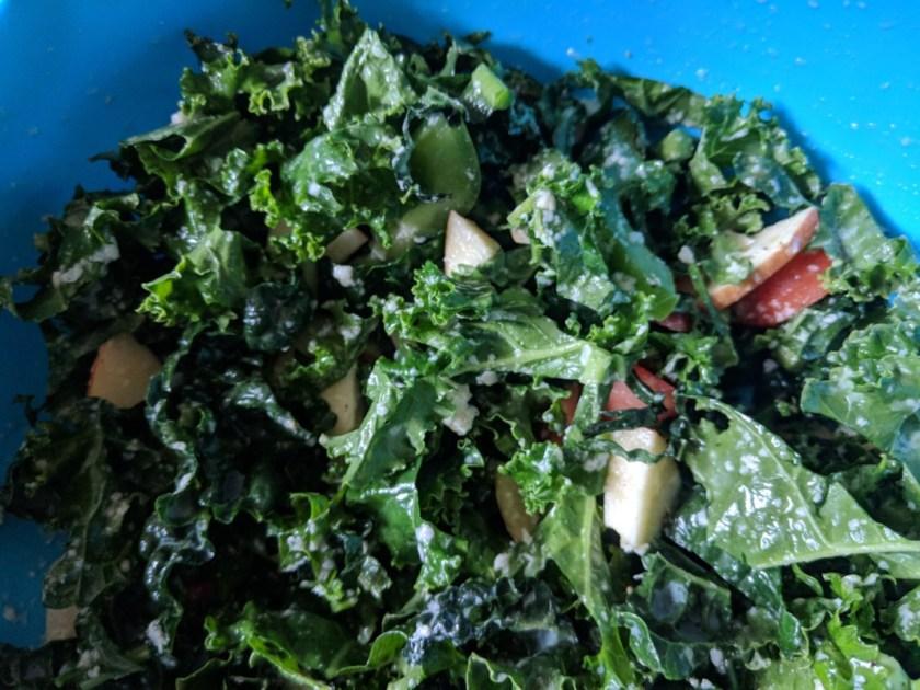 Imperfect Produce Kale Apple Garlic Lemon Salad Recipe