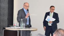 Dr. Gerhard Führer und Prof. Dr.-Ing. Ulrich Bogenstätter - Bild: peridomus.de