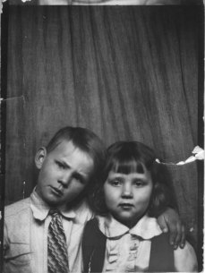 Ross and Ruth Schimmels in about 1934 - the heart of the Dust Bowl.
