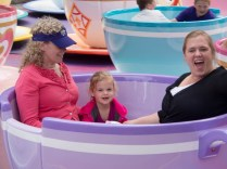 The ladies ride the Teacups!