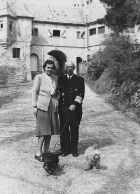 1944 Canaris mit Frauklein