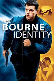 "Plakat for filmen ""The Bourne Identity"""
