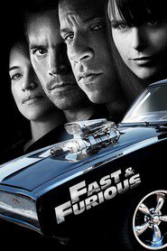 "Plakat for filmen ""Fast & Furious"""