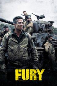"""Plakat for filmen """"Fury"""""""