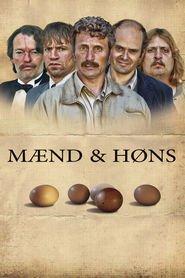 """Plakat for filmen """"Men & Chicken"""""""