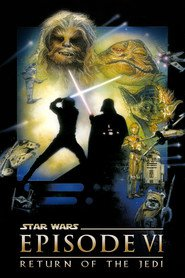 "Plakat for filmen ""Return of the Jedi"""