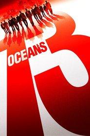 """Plakat for filmen """"Ocean's Thirteen"""""""