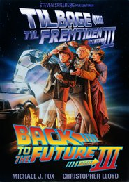 """Plakat for filmen """"Back to the Future Part III"""""""