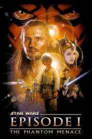 "Plakat for filmen ""Star Wars: Episode I - The Phantom Menace"""