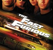 """Plakat for filmen """"The Fast and the Furious"""""""