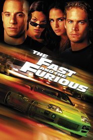 "Plakat for filmen ""The Fast and the Furious"""