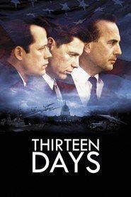 "Plakat for filmen ""Thirteen Days"""