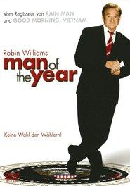 """Plakat for filmen """"Man of the Year"""""""