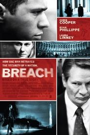 """Plakat for filmen """"Breach"""""""