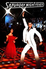 "Plakat for filmen ""Saturday Night Fever"""