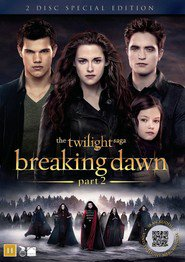 "Plakat for filmen ""The Twilight Saga: Breaking Dawn - del 2"""