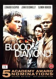 "Plakat for filmen ""Blood Diamond"""