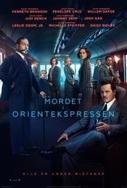 """Plakat for filmen """"Mordet i Orientekspressen"""""""