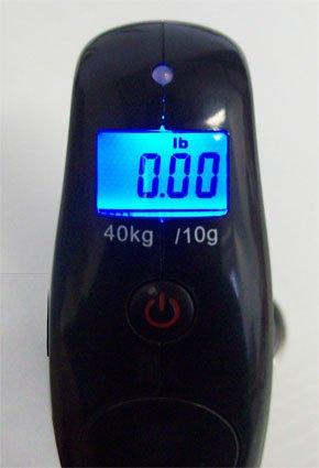 40kg/10g OCS-YFS-H Fischwaage Anglerwaage Hängewaage G&G -