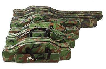 Angeltasche Rutentasche Rutenfutteral Angelkoffer Anglertasche Tasche (tasche2fach), Länge:130cm -