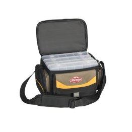BerkleyGerätetasche Bag System inkl. 4 Boxen Grau/Gelb/Schwarz -